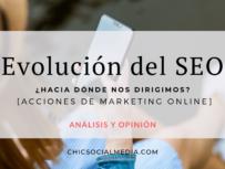 Chic Social Media Blog. Evolución SEO.