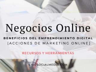 Chic Social Media Blog. Negocios Online.