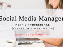 Chic Social Media Blog. Social Media Manager. Perfil Profesional.