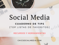 Chic Social Media Blog: Cuaderno de Tips