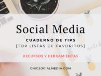 Chic Social Media Blog: Cuaderno de Tips